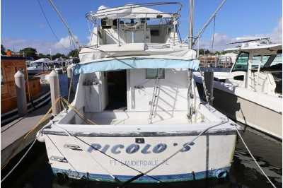 View 1969 HATTERAS 38 CONVERTIBLE - Listing #200004