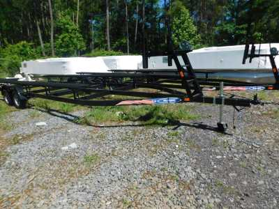 View 2021 Mid America 22ft Pontoon Trailer with Brakes - Listing #307683