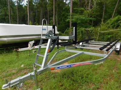View 2021 Mid America 24 ft Galvanized Pontoon Tandem Axle - Listing #307672