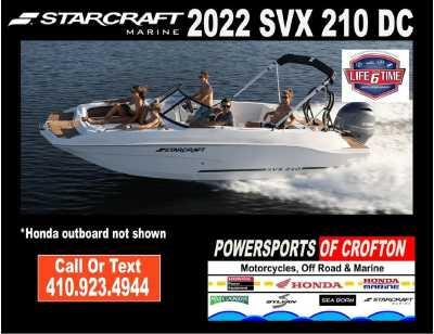 View 2022 Starcraft Marine SVX 210 DC - Listing #292759