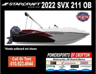 View 2022 Starcraft Marine SVX 211 OB - Listing #292756