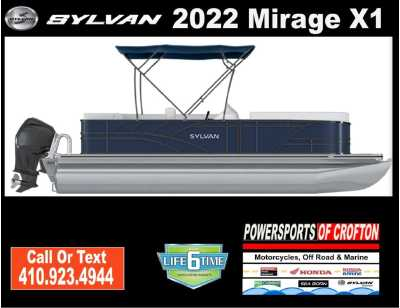 View 2022 Sylvan Mirage X1 - Listing #292752