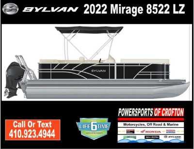 View 2022 Sylvan Mirage 8522 LZ - Listing #293049