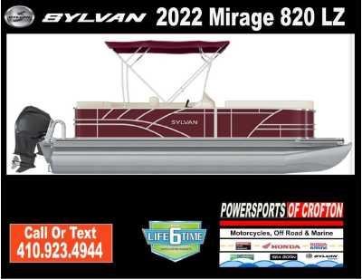 View 2022 Sylvan Mirage 820 LZ - Listing #293055