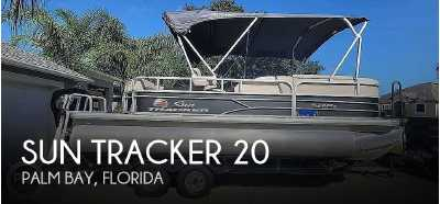 View 2018 Sun Tracker 20 DLX Party Barge - Listing #309519