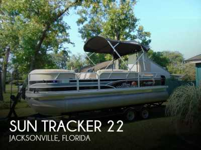 View 2015 Sun Tracker 22 DLX Party Barge - Listing #304674