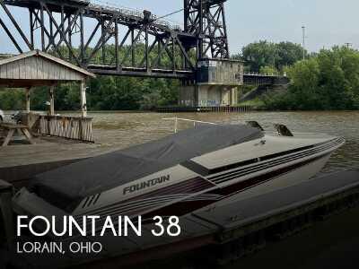 View 1996 Fountain 38 Sport Cruiser - Listing #299964