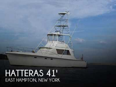 View 1967 Hatteras 41' Convertible - Listing #94832