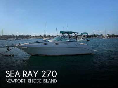 View 1997 Sea Ray 270 Sundancer - Listing #90297