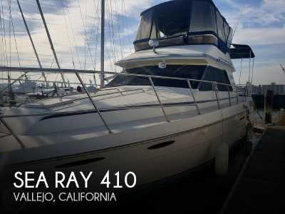 View 1986 Sea Ray 410 Aft Cabin - Listing #81612