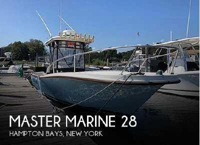 View 1981 Master Marine 28 - Listing #74609