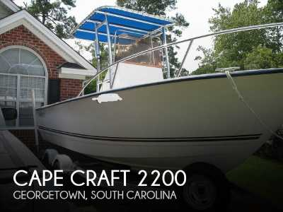 View 2007 Cape Craft 2200 - Listing #79428