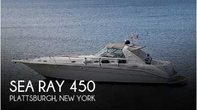 View 1996 Sea Ray 450 Sundancer - Listing #72861