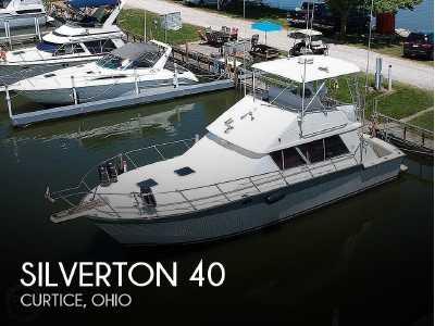 View 1988 Silverton 40 Convertible - Listing #74621