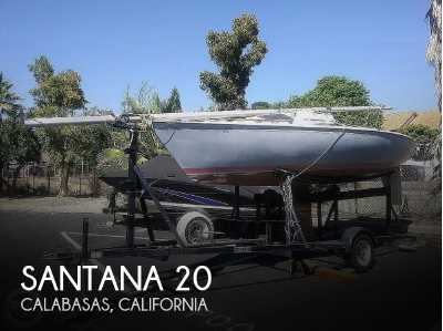 View 1977 Santana 20 Trailerable Sloop - Listing #68880