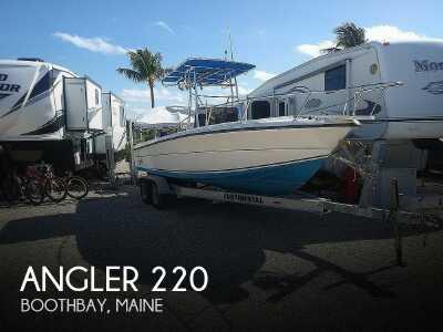 View 1995 Angler 220 - Listing #48625