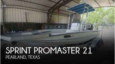 View 2000 Sprint Promaster 21 - Listing #50536