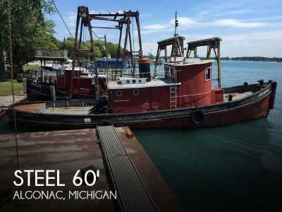 View 1913 Steel Riveted Steel Tug - Listing #51956