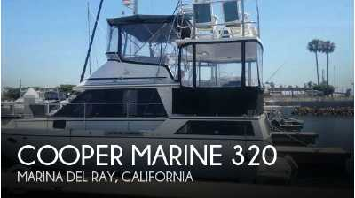 View 1989 Cooper Marine Prowler Sundeck 320 - Listing #52211