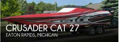 View 1987 Crusader Cat 27 - Listing #52612