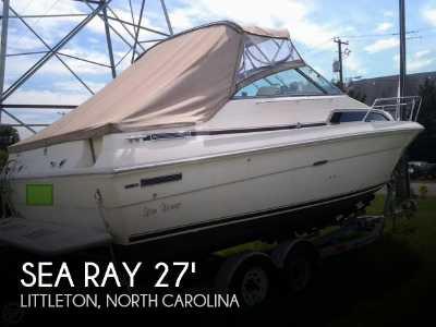 View 1984 Sea Ray 270 Sundancer - Listing #52521