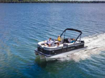 View 2022 Manitou Full Front 22 Oasis Angler VP II - Listing #309877