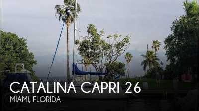 View 1990 Catalina Capri 26 - Listing #241945