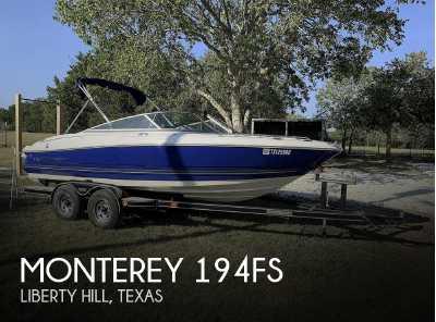 View 2005 Monterey 194fs - Listing #313524