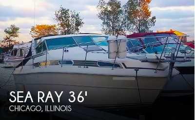View 1980 Sea Ray SRV 360 Express Cruiser - Listing #51171