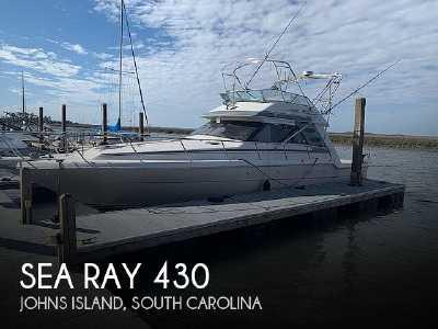 View 1988 Sea Ray 430 Convertible - Listing #50215