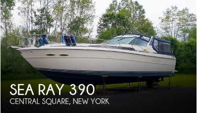 View 1989 Sea Ray 390 Express Cruiser - Listing #50969