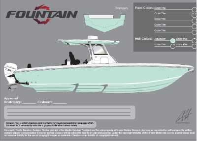 View 2022 Fountain Boats 34 CC - Listing #305858