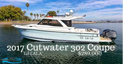 View 2017 Cutwater 30ft - Listing #302747