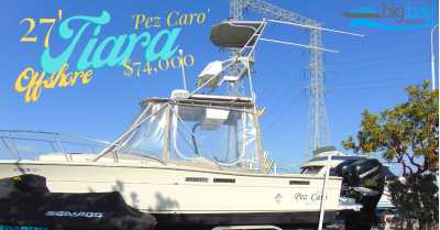 View 1987 Tiara Yachts 2700 Offshore - Listing #302742