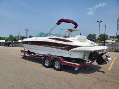 View 2004 Crownline Deck Boat 240 EX - Listing #308659