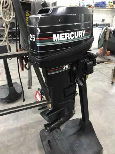 View 1992 Mercury 25 MH - Listing #307705
