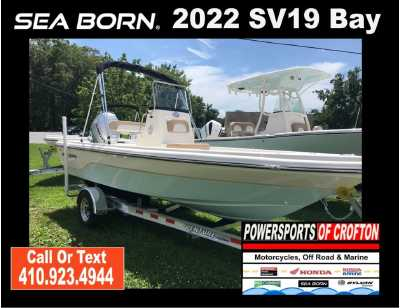 View 2022 Sea Born SV19 Bay - Listing #292730