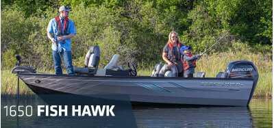View 2021 Crestliner 1650 Fish Hawk SC Jumpseat - Listing #310502