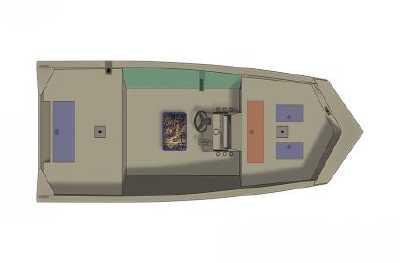 View 2021 Crestliner 1660 Retriever FCC - Listing #311377