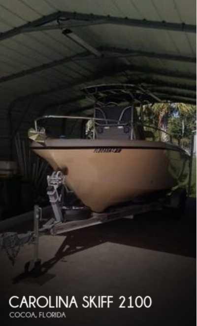 View 2002 Carolina Skiff 2100 Sea Chaser - Listing #313848