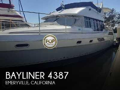 View 1990 Bayliner 4387 Aft Cabin - Listing #302737
