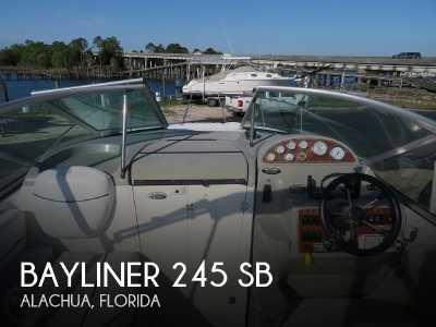View 2007 Bayliner 245 SB - Listing #238974