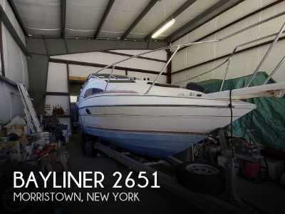 View 1990 Bayliner 2651 Ciera Sunbridge - Listing #99898