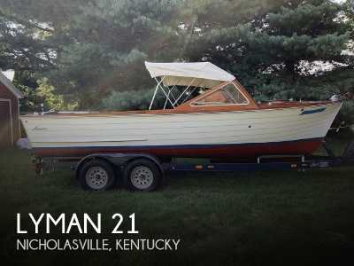 View 1965 Lyman 21 Inboard-Outboard - Listing #301794