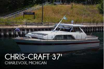 View 1966 Chris-Craft 37 Constellation - Listing #50335