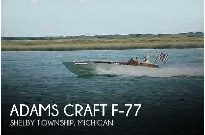 View 1977 Adams Craft F-77 - Listing #50847