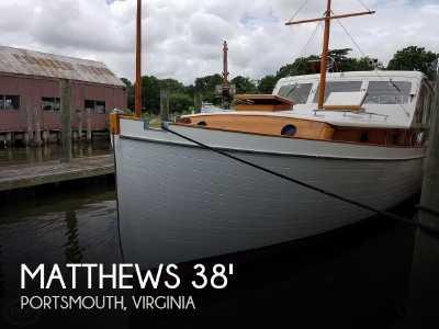 View 1941 Matthews 38 Cabin Cruiser - Listing #51297
