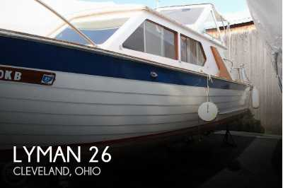 View 1969 Lyman 26 Express Cruiser - Listing #51570