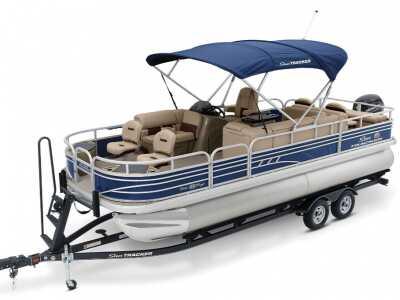 View 2021 Sun Tracker Fishin Barge 22 DLX - Listing #295799