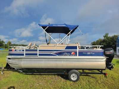View 2015 Sun Tracker Fishin' Barge 22 DLX - Listing #314056